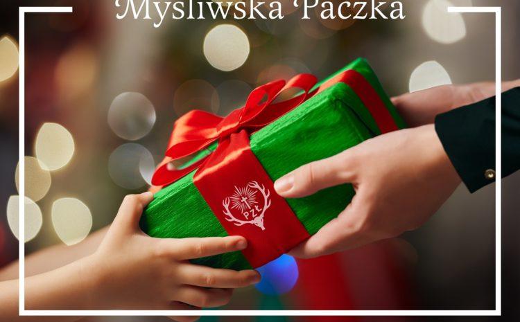 """Myśliwska Paczka z Koła Łowieckiego """"Szarak"""" w Myszkowie"""