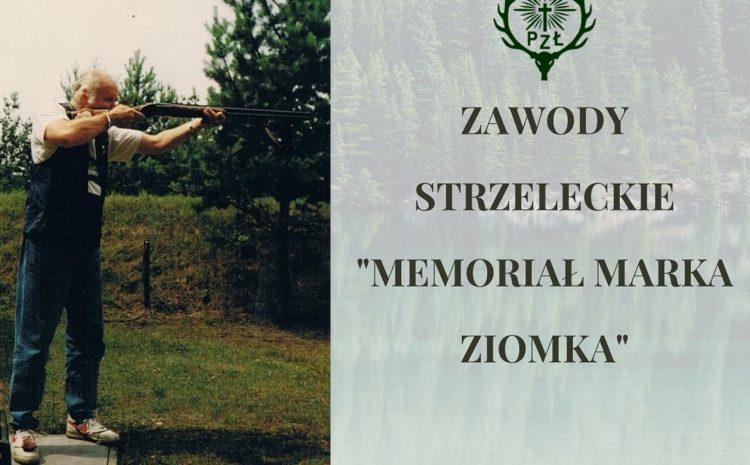 Zawody strzeleckie poświęcone pamięci naszego drogiego Kolegi Św.P. Marka Ziomka